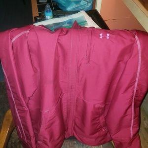 Large plum purple under armour blazer